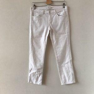 J Brand 7/8 Jean in white